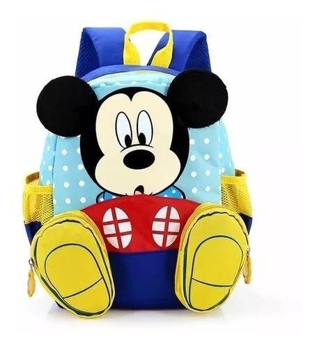 mochila escolar mickey disney infantil pré jardim infância