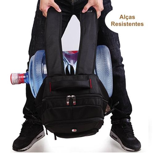 mochila escolar notebook 15.6 casual 2019 masculina feminina