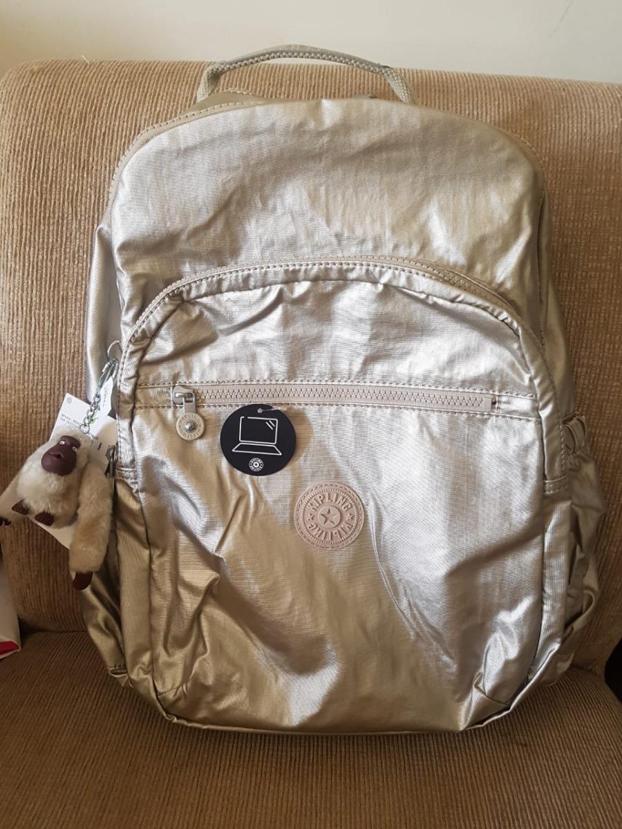 86be33e21 Mochila Escolar Notebook Seoul Go Gold Original Eua - R$ 574,90 em ...