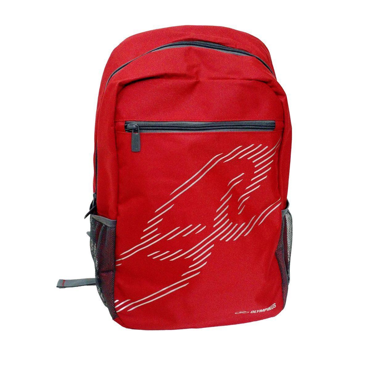 71e4a0096 Mochila Escolar Olympikus Red 71800 Original - R$ 49,90 em Mercado Livre