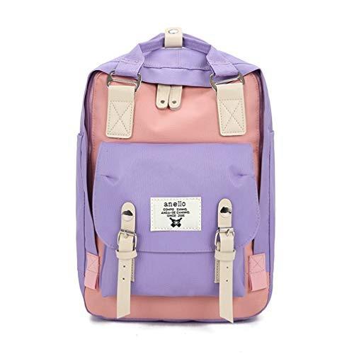Mochila L1jkfc Moda Mujeres De Bookbag Escolar Lona Para BoWCrdxeQ
