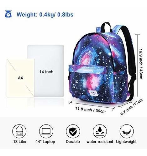 mochila escolar para niñas boysgalaxy resistente al agua dur