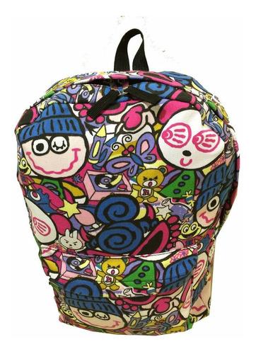 mochila escolar reforçada em lona volta as aulas