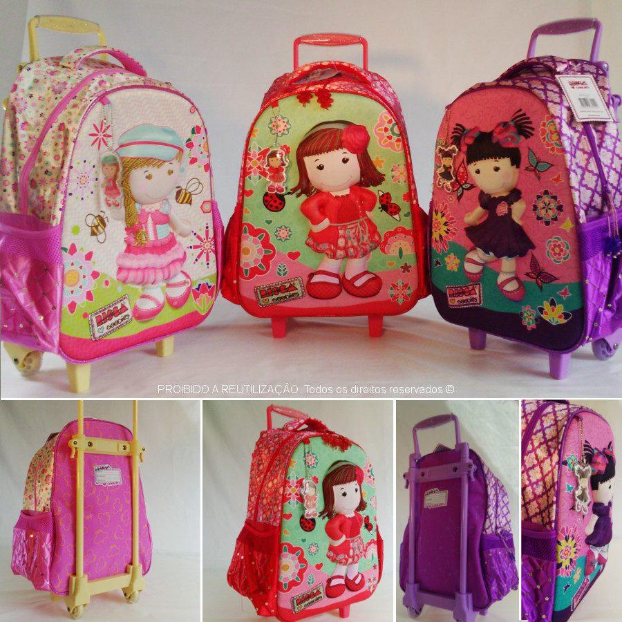 Bolsa Escolar Infantil Feminina Mercado Livre : Kit mochila escolar feminina infantil d risca lancheira