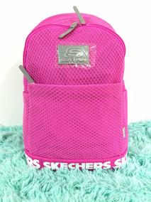 58a1fcaf4 Precio. Publicidad. Mochila Escolar Skechers Rosa Juvenil Porta Laptop Mujer