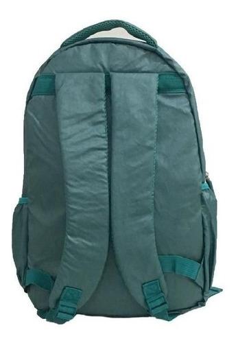 mochila escolar unissex casual