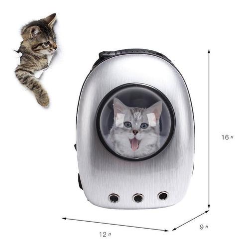 mochila espacial de transporte de mascotas - gato y perro