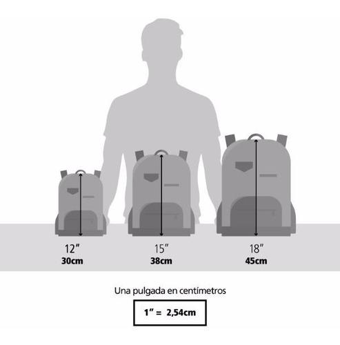 mochila espalda 15  jessie (9294)