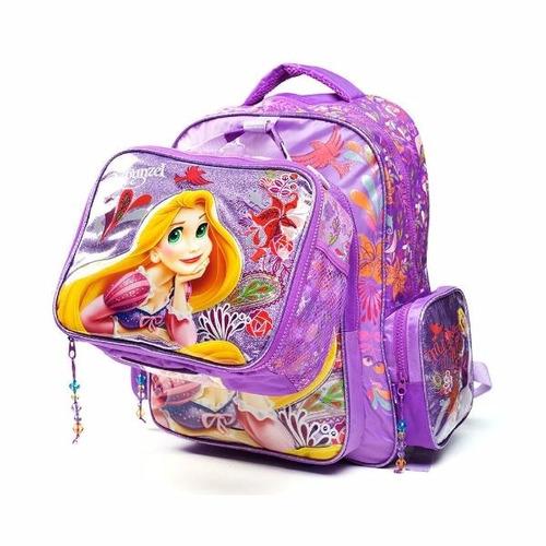 mochila espalda 16  princesas (8643)