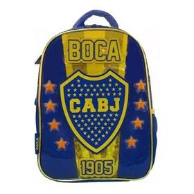 Mochila Espalda Jardin 12¨ Cesped! Orig. Boca Juniors Jiujim