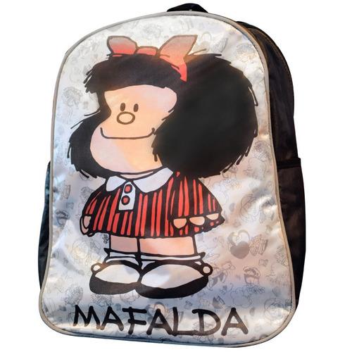 mochila espalda mafalda 16' con bolsa (1041)