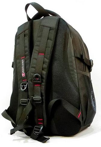 mochila espalda uniform suiza 17,5 + funda lluvia de regalo!