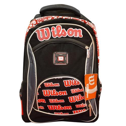 mochila espalda wilson modelos surtidos originales (6111)