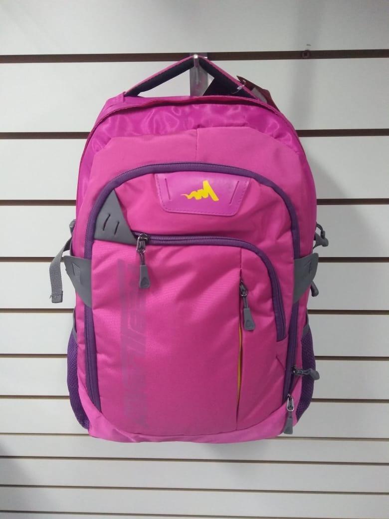 4eb5ec6b9 mochila esportiva feminina grande para notebook pink luxcel. Carregando zoom .