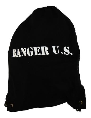 mochila esportiva tipo saco - gym sack ranger u.s.