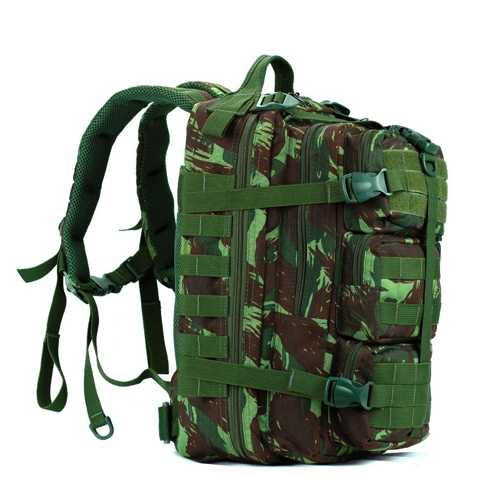 d586a957c Mochila Estilo Militar Reforçada Traseira