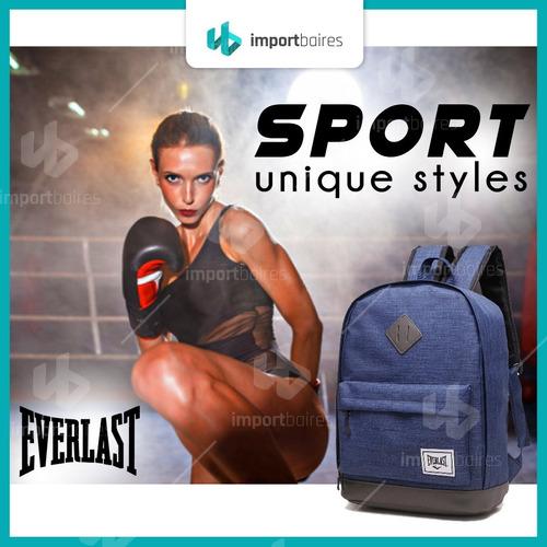 mochila everlast 100% original porta notebook urbana gym colores reforzada deportiva liviana escolar universitaria
