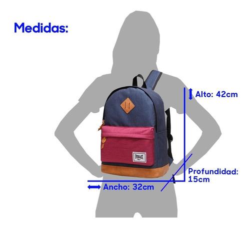 mochila everlast porta notebook urbana reforzada deportivas