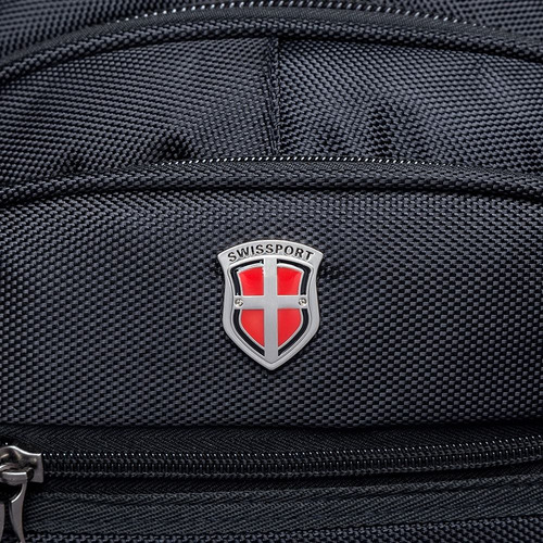 mochila executiva cabo de aço masculina reforçada swissport