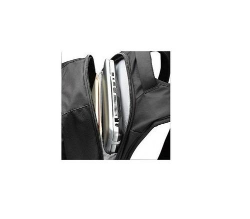 mochila executiva notebook 16  case logic dlbp-116.16 preta