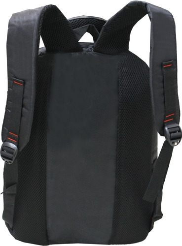 mochila executiva notebook laptop até 17 polegadas black