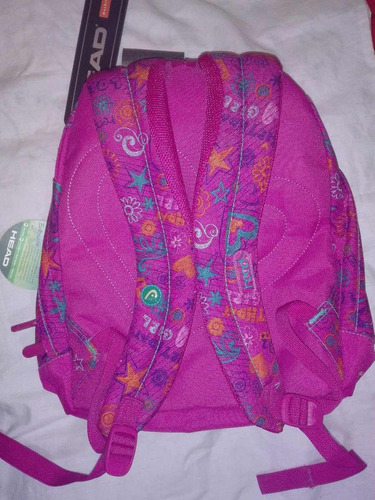 mochila femenina marca head