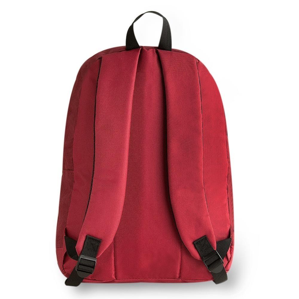 36c6d66c3 mochila feminina barata lisa canvas old school vermelha roxa. Carregando  zoom.