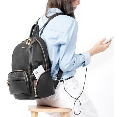 mochila feminina chenson passeio faculdade casual 8481494