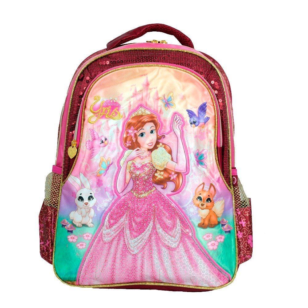 b1048d15b mochila feminina costas princesa barata lilas rosa media m. Carregando zoom.