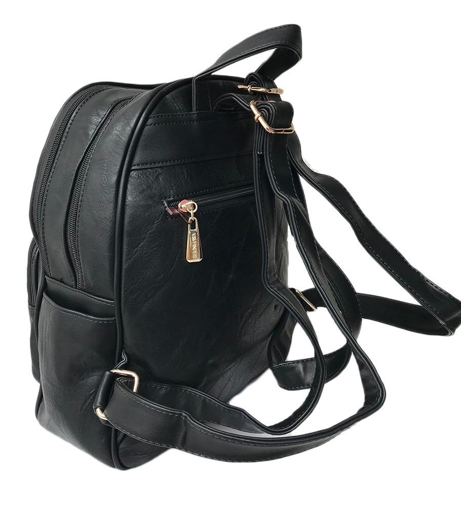 19f9e5fd4 mochila feminina escolar couro sintetico frete gratis com nf. Carregando  zoom.