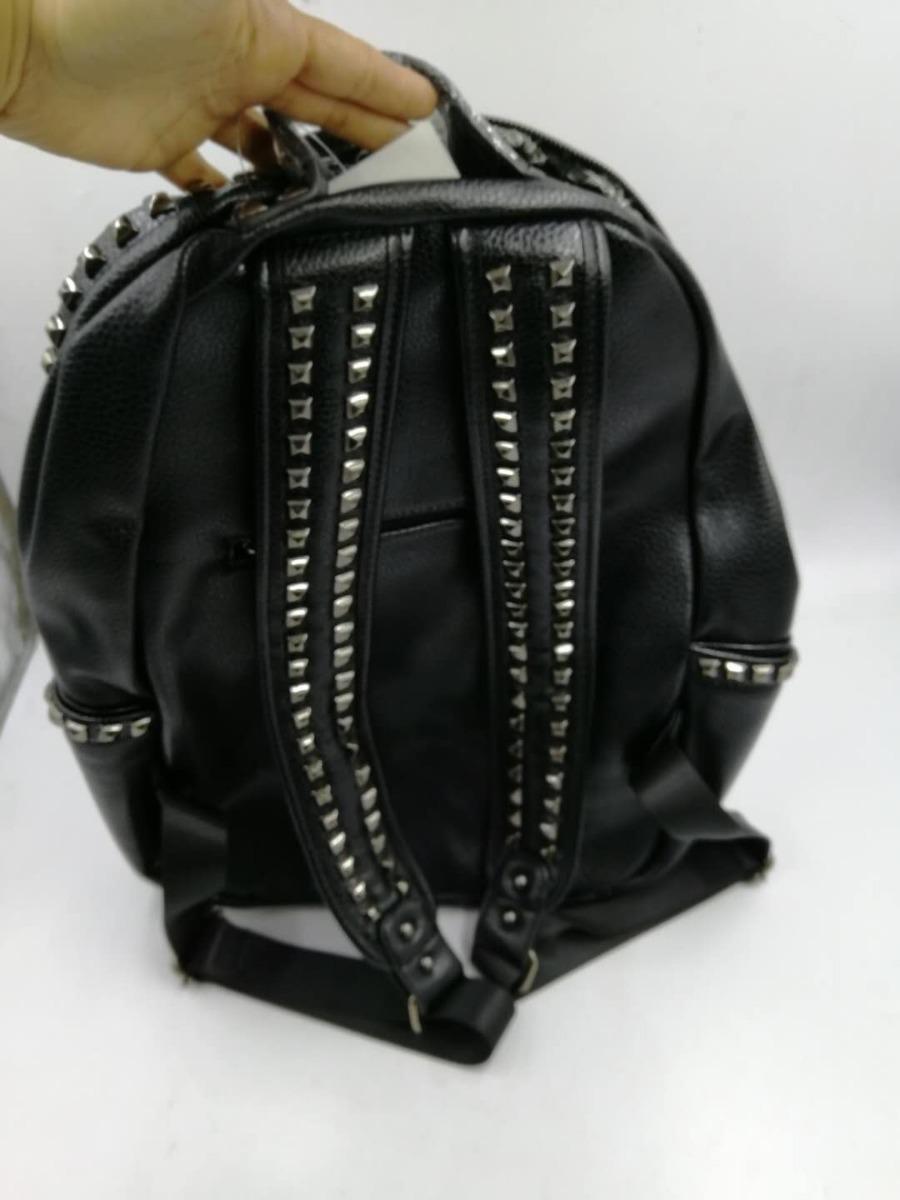 2f222010a mochila feminina escolar faculdade spike couro sintetico. Carregando zoom.
