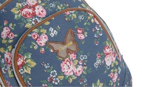 5ce668a36 Mochila Feminina Escolar Floral Grande Original Notebook - R$ 129,99 ...