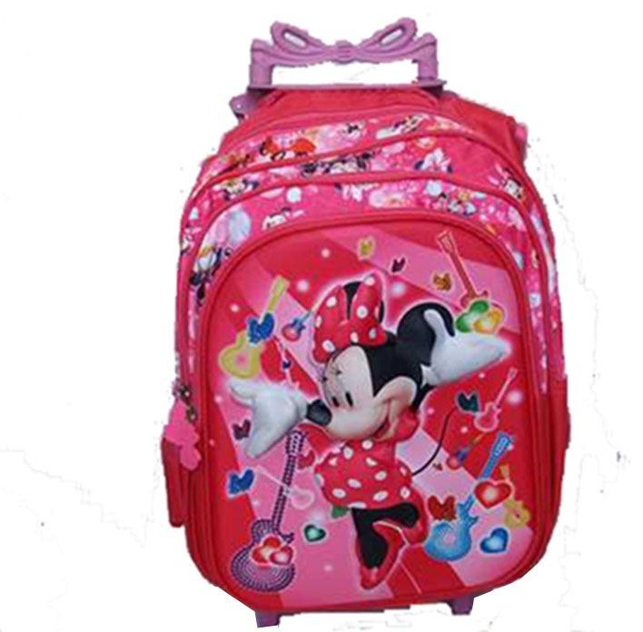 55a393101 Mochila Feminina Infantil 3d Carrinho Grande Minnie - R$ 90,00 em ...