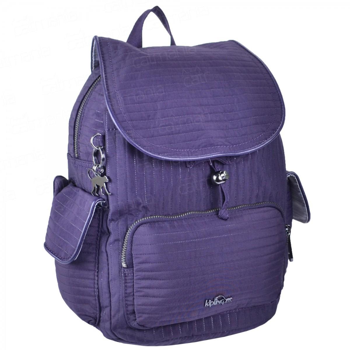 f845627f6 Mochila Feminina Kipling City Pack S - R$ 579,00 em Mercado Livre