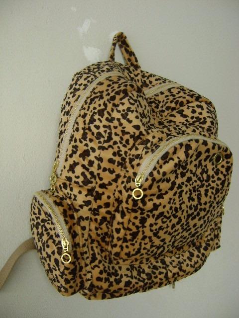 3b10f6ee5 Mochila Feminina Oncinha - R$ 109,99 em Mercado Livre