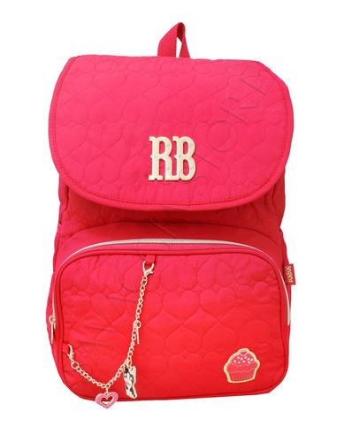 mochila feminina rosa rebecca bonbon cupcake juvenil rb8174