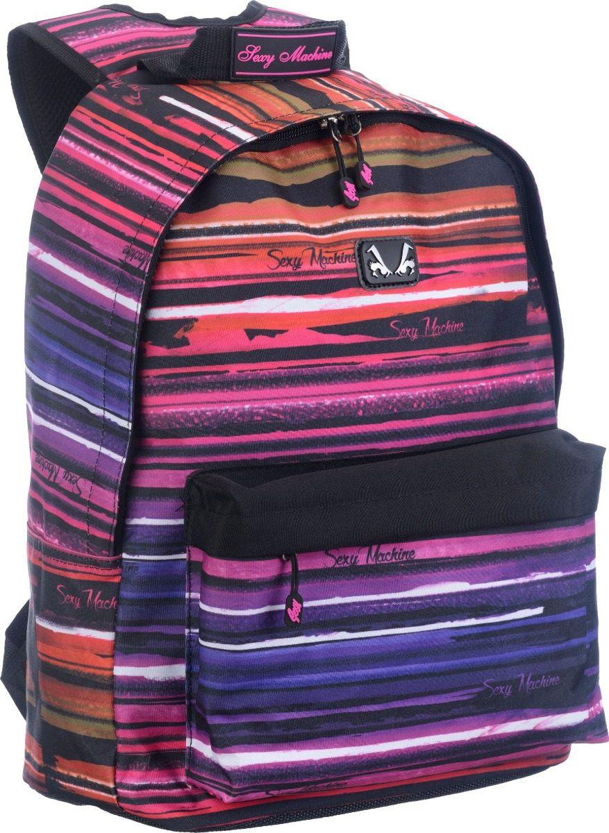 16afc999a mochila feminina sexy machine original surf canvas escolar g. Carregando  zoom.