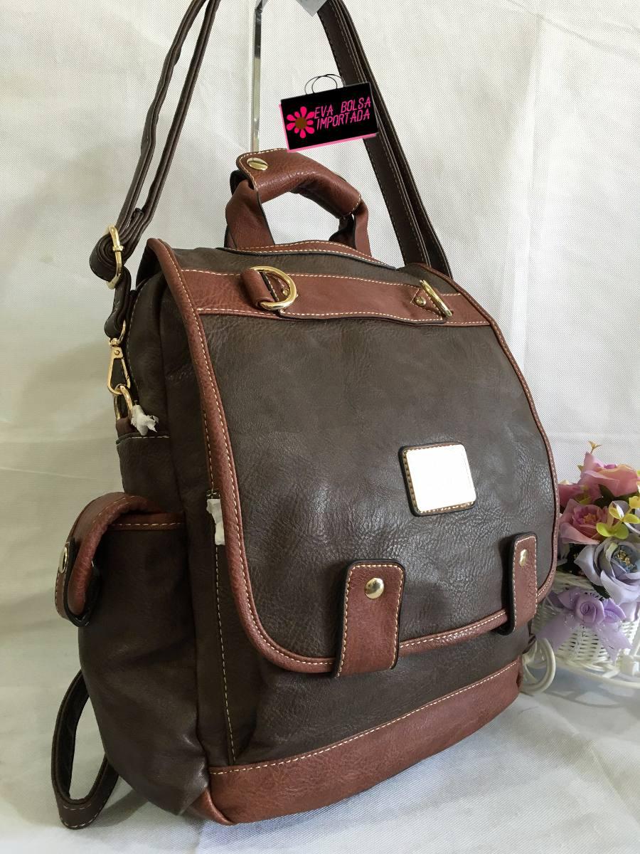 616cca036469d mochila feminina vira bolsa escolar faculdade maleta viagem. Carregando  zoom.