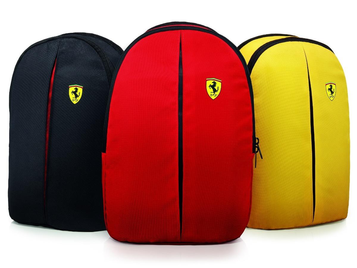 306119a2b Mochila Ferrari Shell Oficial Só Vermelha - R$ 39,90 em Mercado Livre