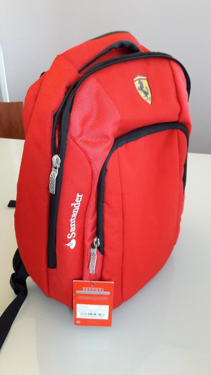 ae9aefc74 Mochila Ferrari Vermelha Notebook Original - R$ 249,00 em Mercado Livre