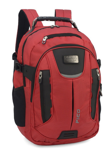 mochila fico vermelha  para notebook - 48630