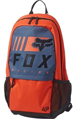 mochila fox 180 overkill naranja casual