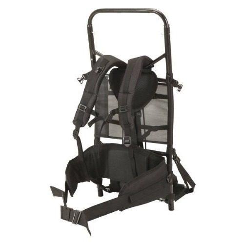 Mochila Frame Pack De Aluminio Negro - $ 128.300 en Mercado Libre