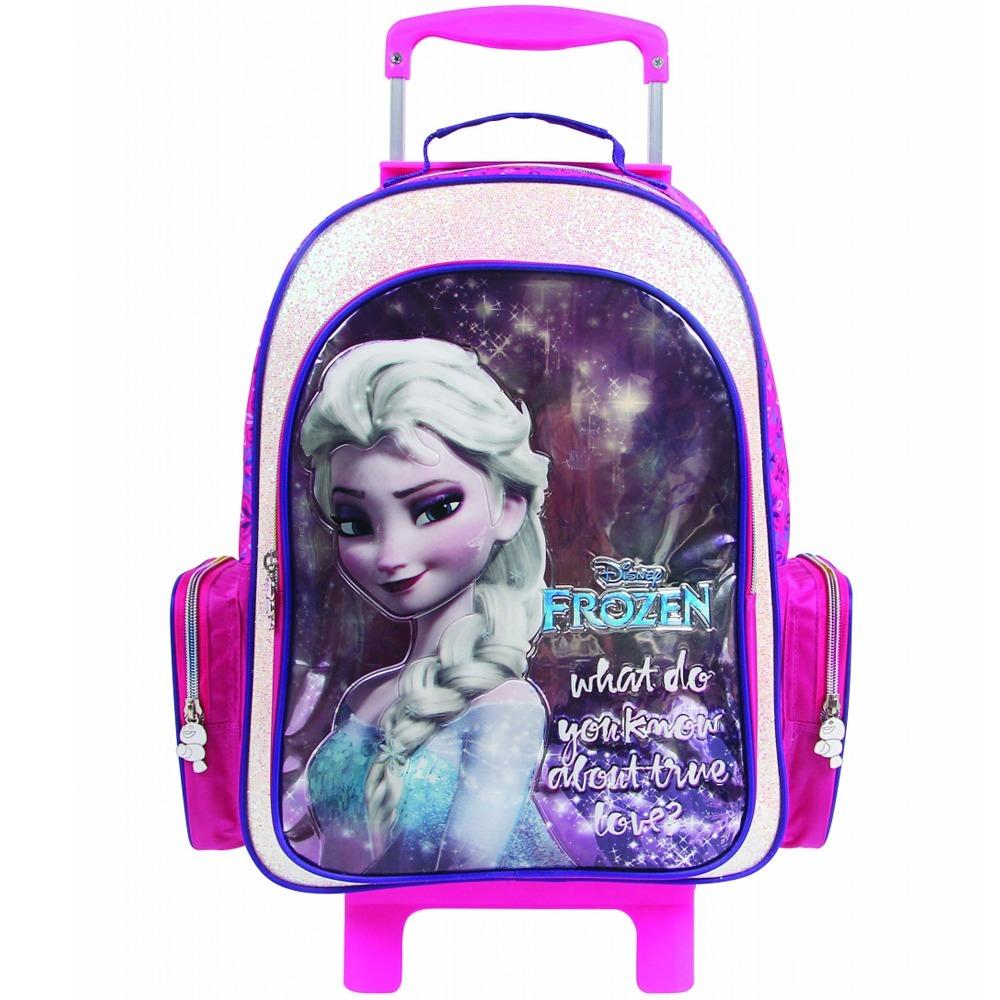 ecd628674 mochila frozen elsa escolar rodinha feminina infantil grande. Carregando  zoom.