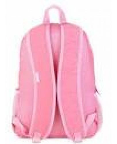mochila g capricho crinkle pink