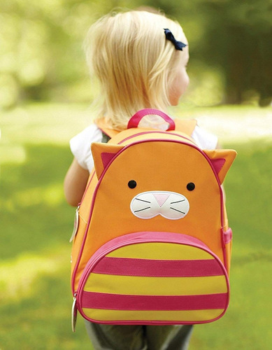 mochila gato infantil skip hop zoo original