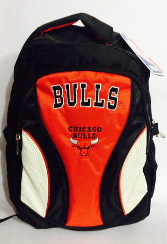 mochila grande nba chicago bulls