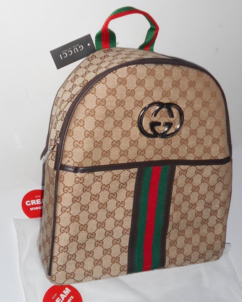 c83606fc71a7 Mochila Gucci Louis Vuitton Versace - S  279