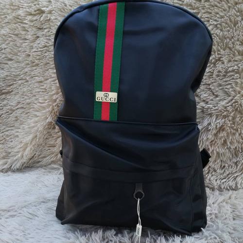 mochila gucci negra
