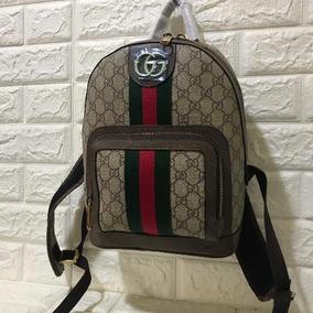 40bb4af5c Usada Rara! Bolsa Mochila Gucci Bamboo Original - Bolsa Outras ...